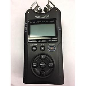 Pre-owned Tascam DR40 MultiTrack Recorder by TASCAM