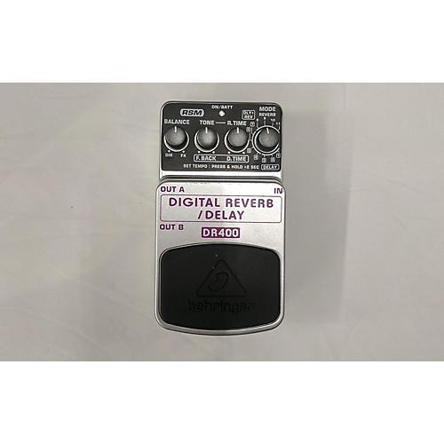 Behringer DR400 Digital Reverb/Delay Effect Pedal-thumbnail