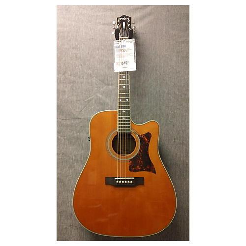 Epiphone DR500MCE Masterbuilt Antique Natural Acoustic Electric Guitar