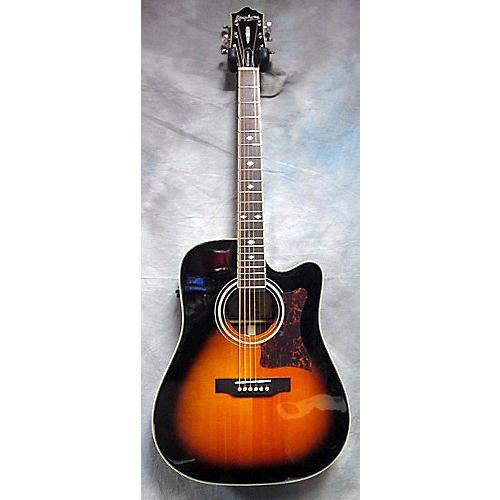 Epiphone DR500MCE Masterbuilt Vintage Sunburst Acoustic Electric Guitar