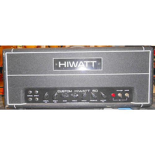 used hiwatt dr504 custom 50 tube guitar amp head guitar center. Black Bedroom Furniture Sets. Home Design Ideas