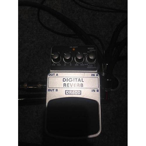 Behringer DR600 Digital Stereo Reverb Effect Pedal-thumbnail