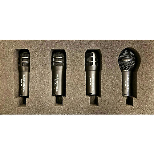 used digital reference drdrm4 4 piece percussion microphone pack guitar center. Black Bedroom Furniture Sets. Home Design Ideas