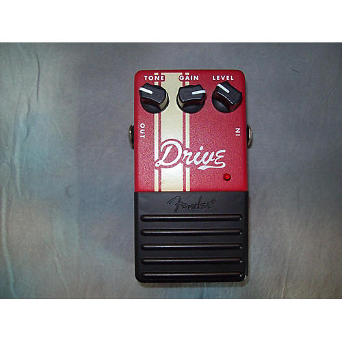 Fender DRIVE Red Effect Pedal Red