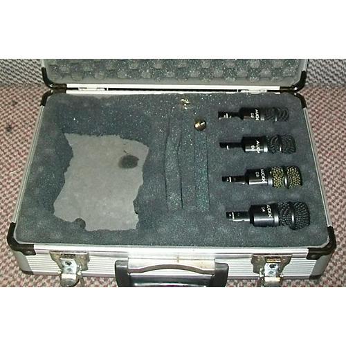 Audix DRUM MIC PACK - D2 D2 D3 D4 Drum Microphone