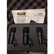 CAD DRUM MICROPHONE PACK Percussion Microphone Pack
