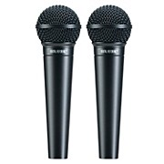 Digital Reference DRV100 Dynamic Cardioid Handheld Mic (Two Pack)
