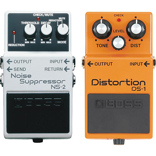 Boss DS-1 and NS-2 Guitar Effects Pedals-thumbnail