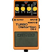 DS-2 Turbo Distortion Pedal with Remote Jack