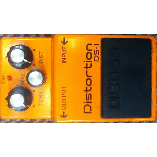 Boss DS1 Distortion Orange Effect Pedal