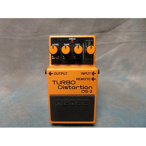 Boss DS2 Turbo Distortion Effect Pedal-thumbnail