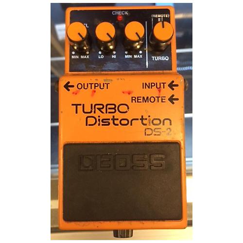 Boss DS2 Turbo Distortion Orange Effect Pedal