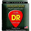 DR Strings DSA-11 Dragon Skin K3 Coated Acoustic Strings Medium-Light  Thumbnail