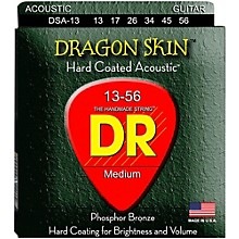 DR Strings DSA-13 Dragonskin K3 Coated Acoustic Strings Heavy