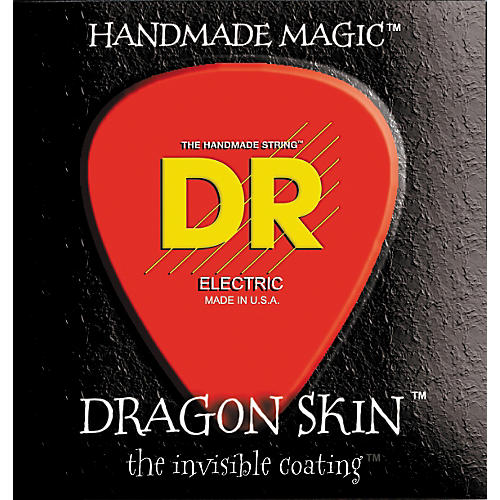 DR Strings DSB6-30 Dragon Skin Coated Medium 6-String Bass Strings-thumbnail