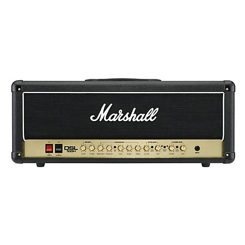 Marshall DSL100H 100W All-Tube Guitar Amp Head Black-thumbnail