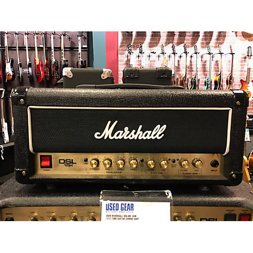 Marshall DSL15H 15W Tube Guitar Amp Head-thumbnail