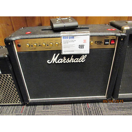 Marshall DSL40C 40W 1X12 Black Tube Guitar Combo Amp-thumbnail