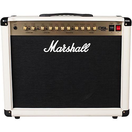 Marshall DSL40C Limited Edition Cream 40W 1x12 Tube Guitar Combo Amp