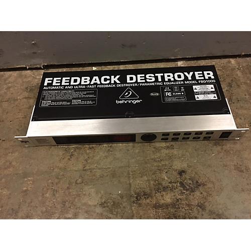 Behringer DSP1000 Feedback Suppressor