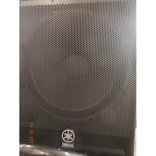 Yamaha DSR118W Powered Subwoofer-thumbnail