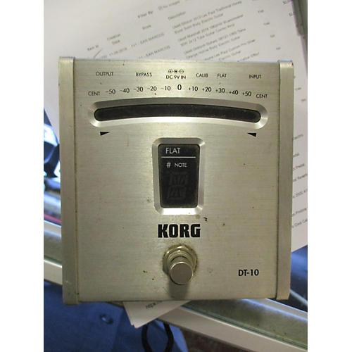 Korg DT 10 TUNER Tuner Pedal