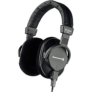 Beyerdynamic DT 250 250 ohm Stereo Headphones with Detachable Cable by Beyerdynamic