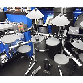 Used yamaha dt xplorer electric drum set guitar center for Electric drum set yamaha