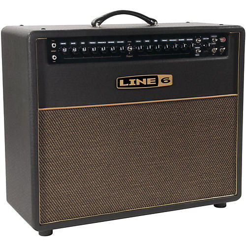 Line 6 DT50 112 25/50W 1x12 Guitar Combo Amp Black  UsedGrade1-thumbnail