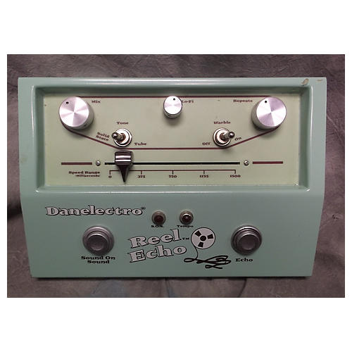Danelectro DTE1 Reel Echo Delay Effect Pedal