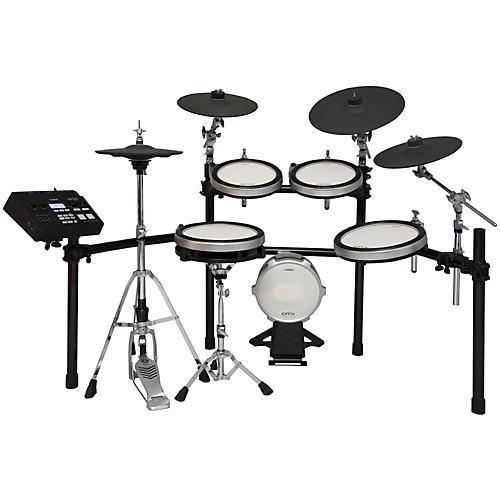 yamaha dtx 760k electronic drum set with rack guitar center. Black Bedroom Furniture Sets. Home Design Ideas