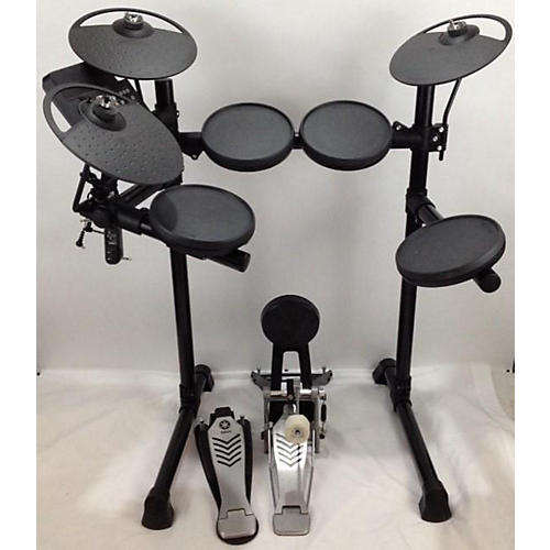 Used yamaha dtx430 electric drum set guitar center for Electric drum set yamaha