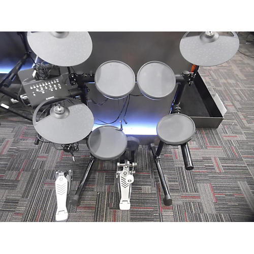 Used yamaha dtx430k electric drum set guitar center for Yamaha electric drumset