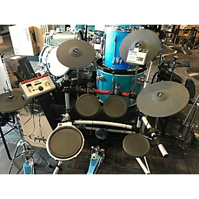 Used yamaha dtx4p electric drum set guitar center for Electric drum set yamaha