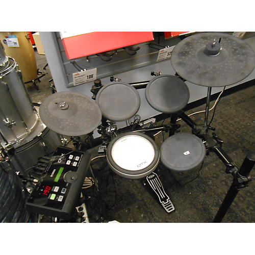 Used yamaha dtx500 electric drum set guitar center for Yamaha electric drumset