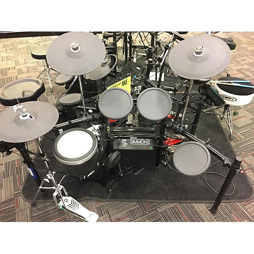 Used yamaha dtx502 electric drum set guitar center for Electric drum set yamaha