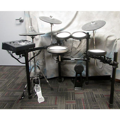 used yamaha dtx700 electric drum set guitar center. Black Bedroom Furniture Sets. Home Design Ideas