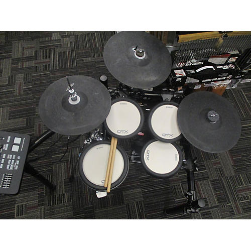 Used yamaha dtx700k electric drum set guitar center for Electric drum set yamaha