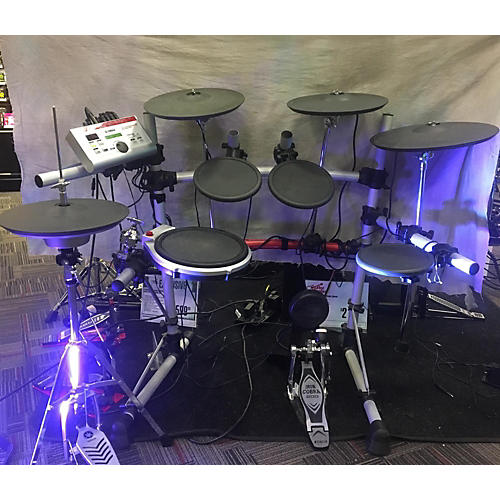 Used yamaha dtxpress iv electric drum set guitar center for Electric drum set yamaha