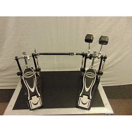 used pulse dual chain bass drum pedal double bass drum pedal guitar center. Black Bedroom Furniture Sets. Home Design Ideas