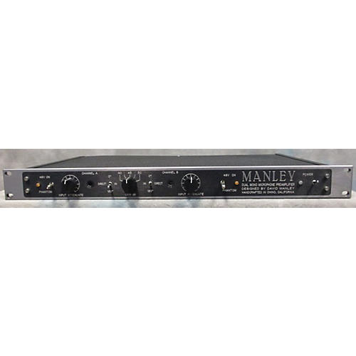 Manley DUAL MONO MICROPHONE PREAMPLIFIER Microphone Preamp