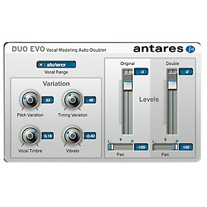 Antares DUO Evo VST/ AU/ RTAS Software Software Download