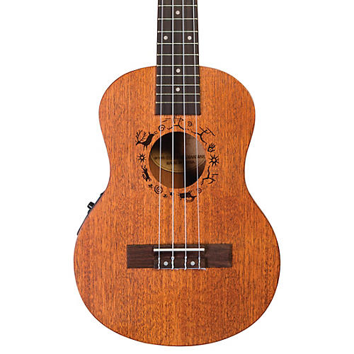 Flight DUT 34 CEQ Tenor Acoustic-Electric Ukulele Natural-thumbnail