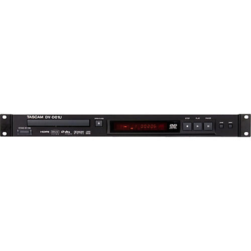 Tascam DV-D01U Rackmountable Single Disc DVD Player-thumbnail