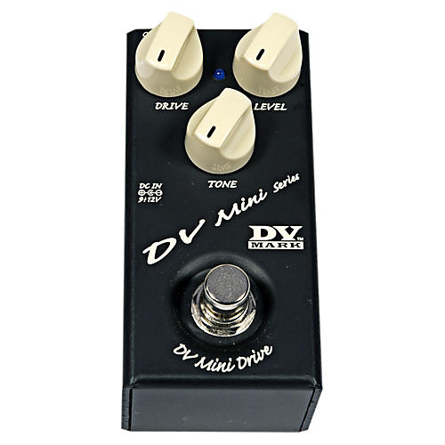 Markbass DV Mini Drive Compact Guitar Overdrive Effects Pedal-thumbnail