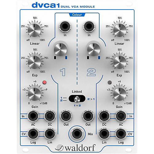 Waldorf DVCA1 Eurorack Dual VCA Module Cream