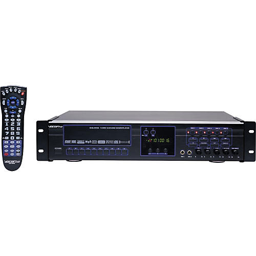 VocoPro DVG-555K 5-Disc DVD/CDG/VCD/MP3/MP4/Photo-CD Karaoke Changer