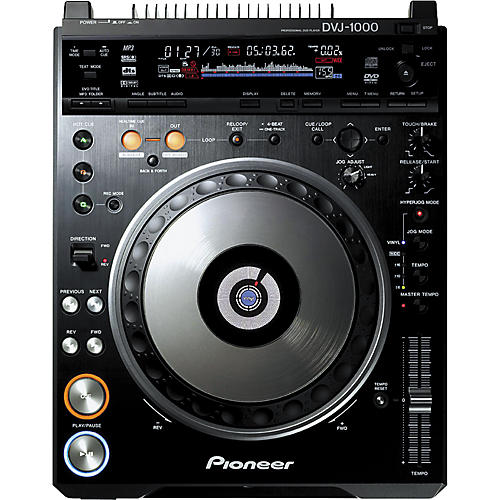 Pioneer DVJ-1000 Professional DVD Turntable