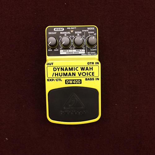Behringer DW400 Dynamic Wah/Human Voice Effect Pedal-thumbnail