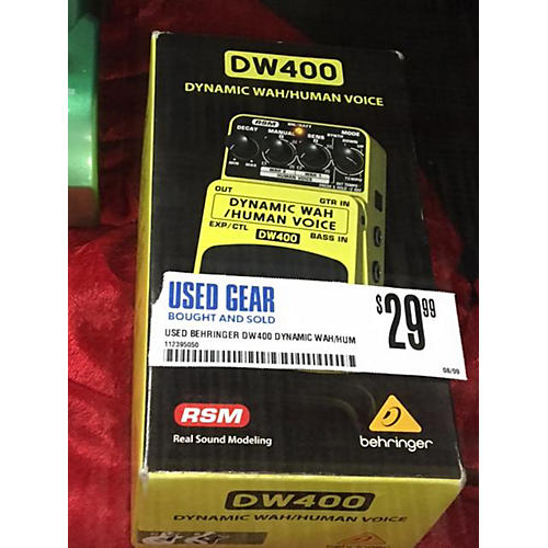 Behringer DW400 Dynamic Wah/Human Voice Effect Pedal